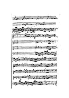La naissance de Venus: Act I by Pascal Collasse