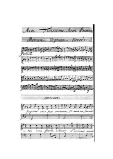 La naissance de Venus: Act III by Pascal Collasse