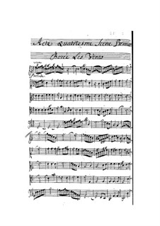 La naissance de Venus: Act IV by Pascal Collasse