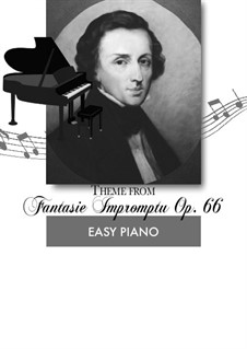 Fantasia-Impromptu in C Sharp Minor, Op.66: For piano by Frédéric Chopin