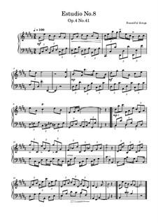 Estudio No.8, Op.4 No.41: Estudio No.8 by Beautiful things Martínez