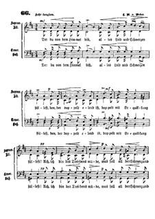 Der du von dem Himmel: Der du von dem Himmel by Carl Maria von Weber