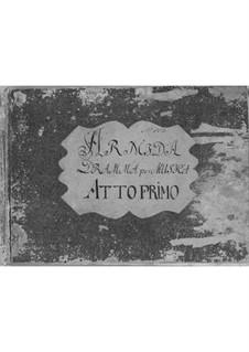Armida: Act I by Antonio Salieri