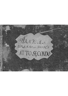 Armida: Act II by Antonio Salieri