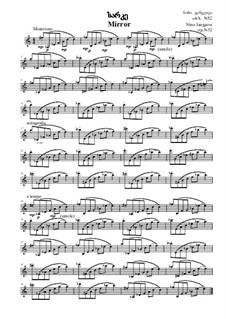 Mirror, Op.52: Mirror by Nino Janjgava