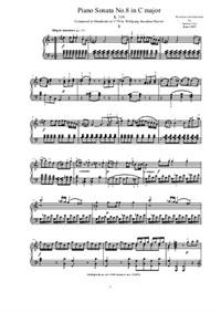 Mozart - Piano Sonata No.8 in A minor - Complete score, K.310