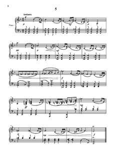 20 прелюдий для фортепиано: No.5 by Vladimir Polionny