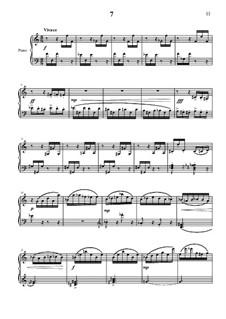 20 прелюдий для фортепиано: No.7 by Vladimir Polionny