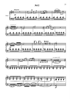 20 прелюдий для фортепиано: No.12 by Vladimir Polionny