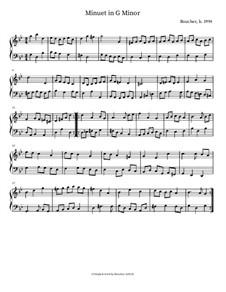Minuet in G Minor: Minuet in G Minor by Mitch Boucher