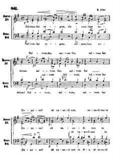 Salvum fac regem: Salvum fac regem by Carl Loewe