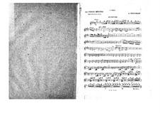 La belle Hélène (The Beautiful Helen): Violins I part by Jacques Offenbach