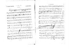 La belle Hélène (The Beautiful Helen): Cellos and double bass part by Jacques Offenbach