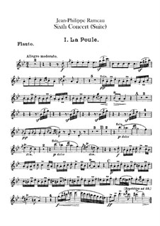 Harpsichord Suite in G Minor, RCT 6: For chamber orchestra – flutes parts by Jean-Philippe Rameau
