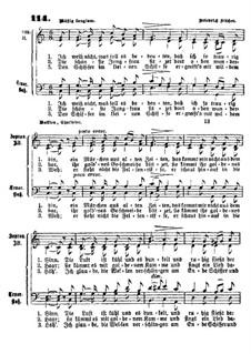 Die Lorelei: For mixed choir by Friedrich Silcher