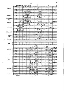 Symphony No.5 in B Flat Major, Op.55: Movement III by Alexander Glazunov