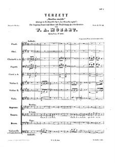 Mandina amabile, K.480: Mandina amabile by Wolfgang Amadeus Mozart