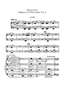 Daphnis et Chloé. Suite No.1, M.57a: Violas part by Maurice Ravel