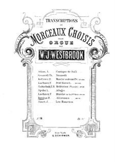 Adoremus. Mélodie Religieuse, Op.72, 72 b: For Organ by Jean-Henri Ravina