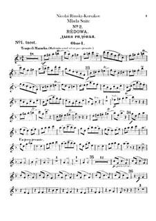 Mlada. Suite: Oboes parts by Nikolai Rimsky-Korsakov