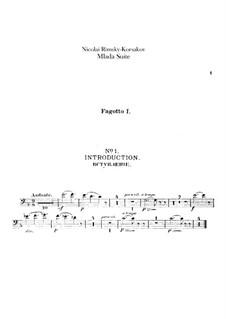 Mlada. Suite: Bassoons parts by Nikolai Rimsky-Korsakov