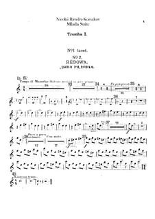 Mlada. Suite: Trumpets parts by Nikolai Rimsky-Korsakov