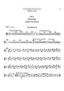 Mlada. Suite: Trombones and tuba parts by Nikolai Rimsky-Korsakov