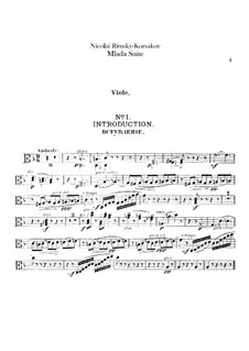 Mlada. Suite: Viola part by Nikolai Rimsky-Korsakov