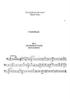 Mlada. Suite: Double bass part by Nikolai Rimsky-Korsakov