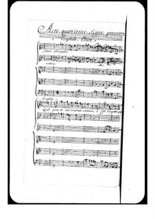 Hippodamie: Act IV by André Campra