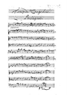 Tancrède: Prologue by André Campra