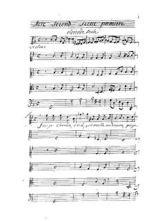Tancrède: Act II by André Campra
