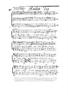 Les muses, LWV 32: Fragment by Jean-Baptiste Lully