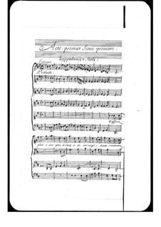 Hippodamie: Act I by André Campra