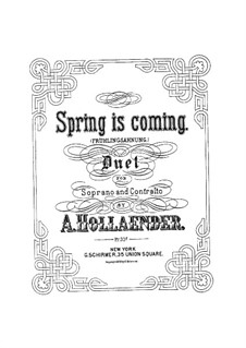 Spring is Coming: Spring is Coming by Alexis Hollaender
