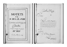 Grand Motets (Collections): Volume IV by Michel Richard de Lalande