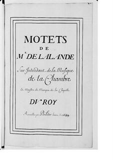 Grand Motets (Collections): Volume VII by Michel Richard de Lalande