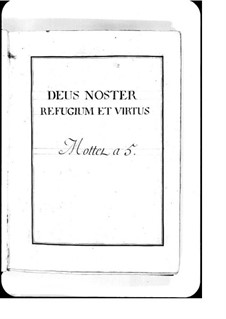 Deus noster refugium: Deus noster refugium by Michel Richard de Lalande