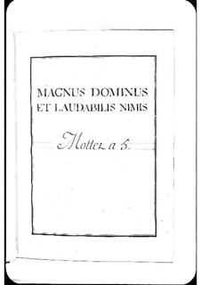 Magnus Dominus: Magnus Dominus by Michel Richard de Lalande