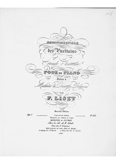 Grand Fantasia on Themes from 'I Puritani' by Bellini, S.390: Grand Fantasia on Themes from 'I Puritani' by Bellini by Franz Liszt