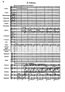Symphony No.6 in A Minor 'Tragic': Movement II by Gustav Mahler