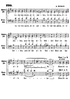 Lobet den Herrn alle Heiden: Lobet den Herrn alle Heiden by Heinrich August Neithardt