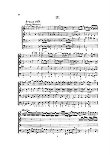Hortus Musicus. Sonatas and Suites for Strings and Basso Continuo: Sonata and Suite No.4 in D Minor by Johann Adam Reincken
