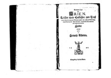 Arias: Arias by Heinrich Albert