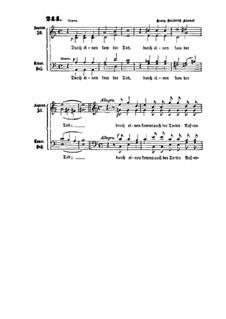 Durch einen kam der Tod: Durch einen kam der Tod by Georg Friedrich Händel