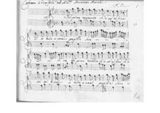 Nel primo momento for Voice and Basso Continuo, SF A198: Nel primo momento for Voice and Basso Continuo by Benedetto Marcello