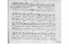 Onda d'amaro pianto for Voice and Basso Continuo, SF A242: Onda d'amaro pianto for Voice and Basso Continuo by Benedetto Marcello