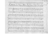 Se nel mondo vi è mai for Voice and Basso Continuo, SF A311: Se nel mondo vi è mai for Voice and Basso Continuo by Benedetto Marcello