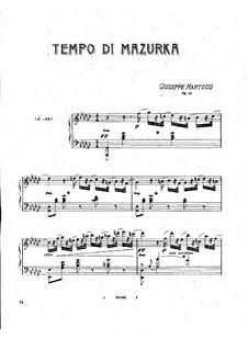 Tempo di mazurka, Op.11: Tempo di mazurka by Giuseppe Martucci