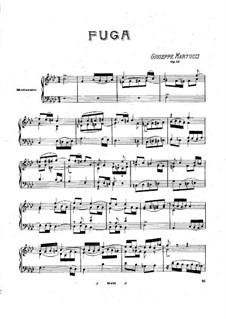 Fugue, Op.14: Fugue by Giuseppe Martucci